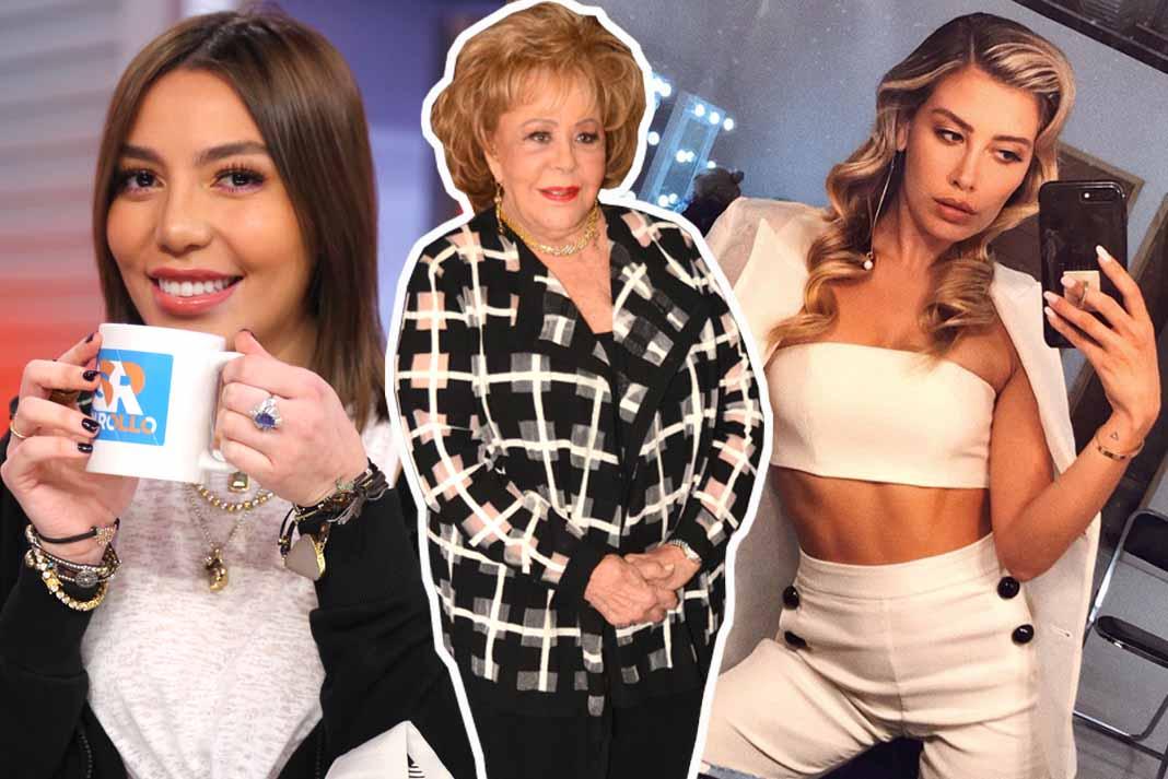 Frida, dona Silvia y Michelle están ahorita en el ojo del huracán