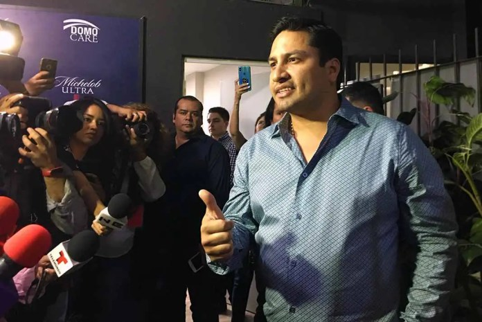 Julión ante la presenta en el Domo Care de Monterrey