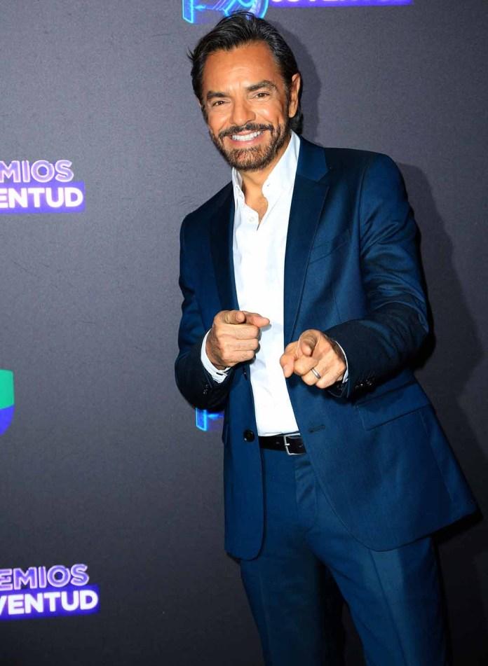 Eugenio está promocionando su nueva película en Hollywood
