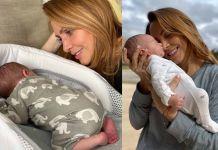 Erika y su bebé Emiliano