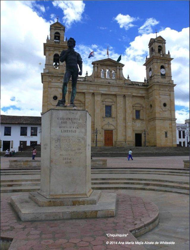 """""""Chiquinquira"""" Plaza de la Libertad, Boyacá, Colombia"""