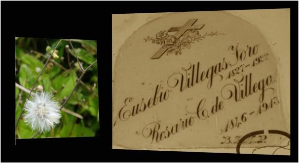 Eusebio Villegas Toro y Rosario C. de Villegas