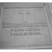 Tumba de Emilia Restrepo De Montoya