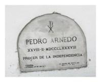 Tumba de Pedro Arnedo