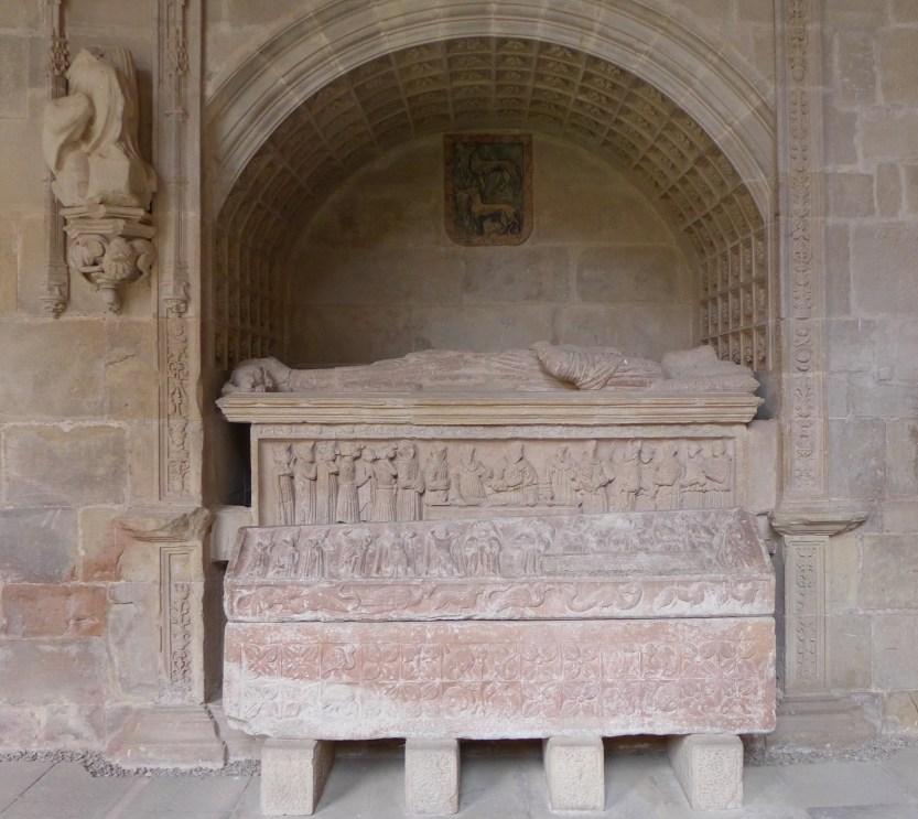 Sepulcro de don Diego López de Haro y de su esposa doña Toda Pérez de Azagra.