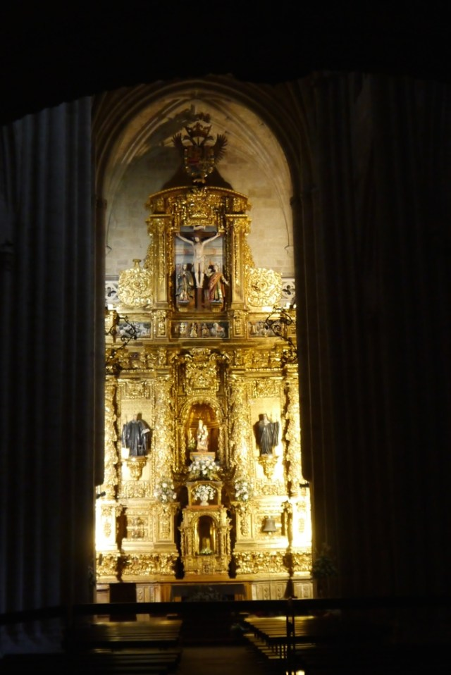 """""""Retablo Mayor de Santa María la Real de Nájera""""."""