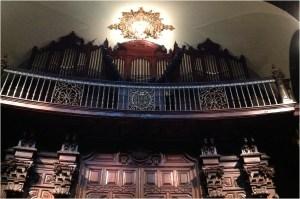 """""""Órgano en la Basílica""""."""
