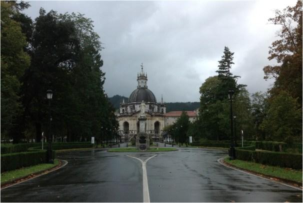 Vista de La Basílica San Ignacio de Loyola.