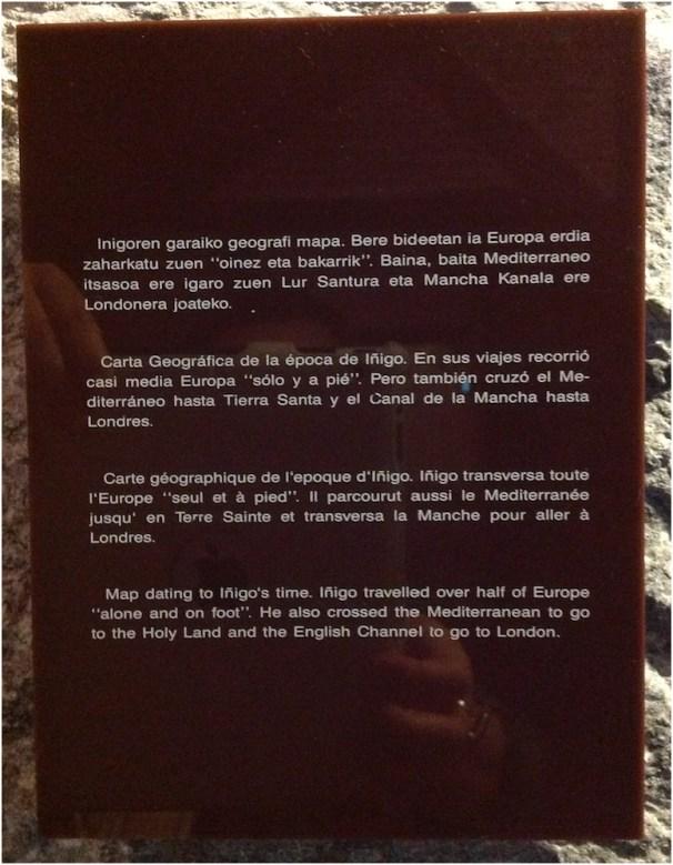 Descripción de la Carta Geográfica.