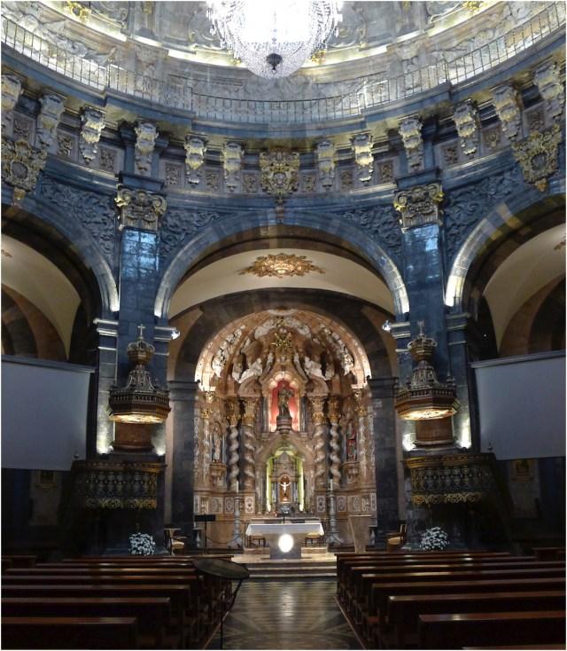 Altar mayor de la Basílica de San Ignacio de Loyola.
