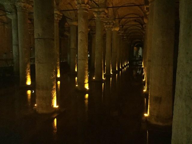anamariapopa.com blog post turcia turkey istanbul basilica cistern