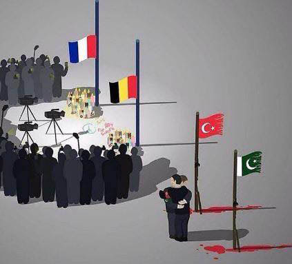 anamariapopa.com terrorist attack brussels paris istanbul turkey ataturk airport double standards