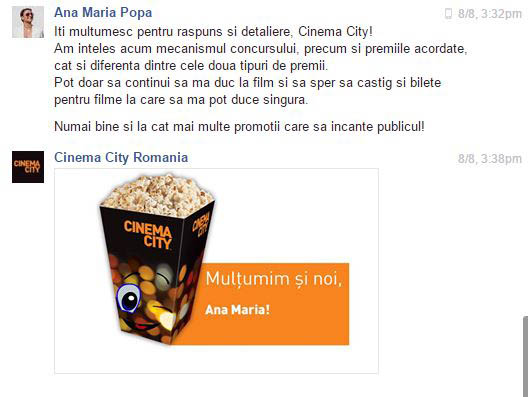 anamariapopa.com cinema city mega mall promotie