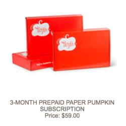 3-month-prepaid-paper-pumpkin