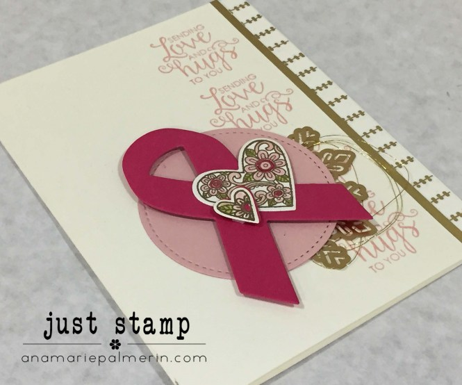 Stampin Up! Ribbon of Support Close-up