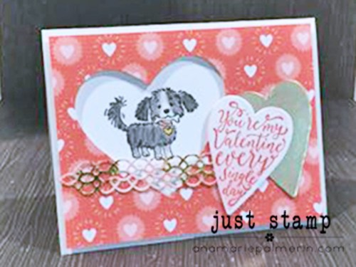Just Stamp | How to Make a Cute Valentine