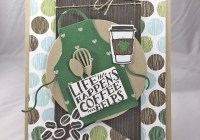 Just Stamp | Coffee Die Cuts with Apron