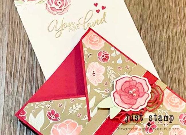 Just Stamp | Stampin' Up! Forever Lovely Valentines Pocket Card