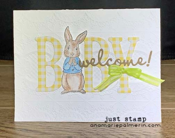 Stampin' Up! Large Letters with Fable Friends | Just Stamp