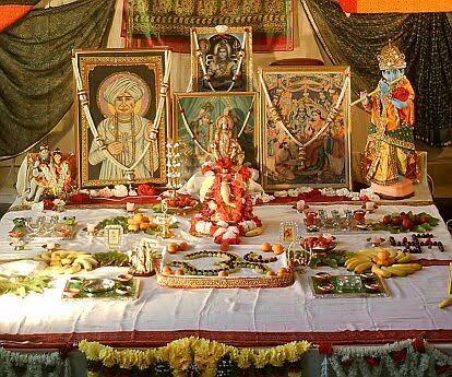 Altar hindu