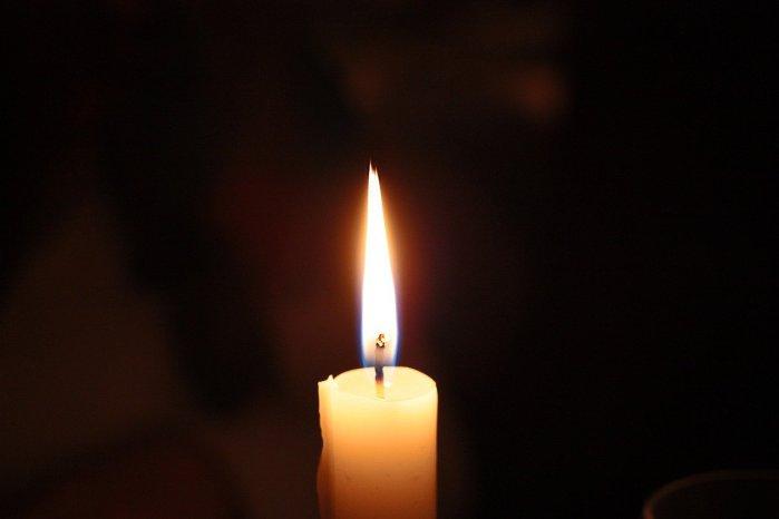 candle, light, church