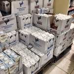 Cases of unrefrigerated milk and none of them are spoiled. Genius…or sorcery?