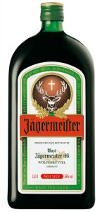 "Jägermeister. Or, as it is more commonly known, ""Liquid Lobotomy""."