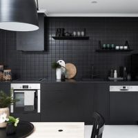 HOW TO USE BLACK IN THE KITCHEN