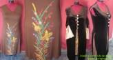 Ropa ritual para la Conferencia de la Diosa (Glastonbury Goddess Conference) con los colores de Mabon y la Madre Tierra