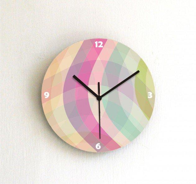 Creative Handmade Wall Clock