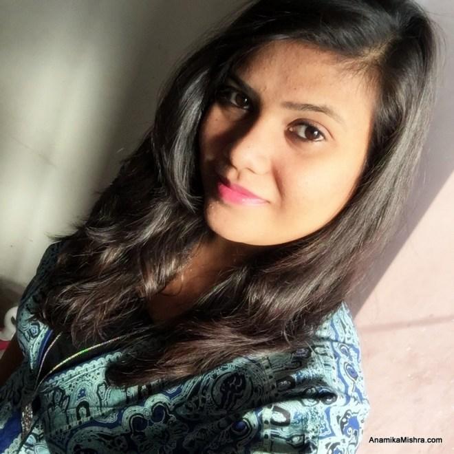 Anamika Mishra Selfie