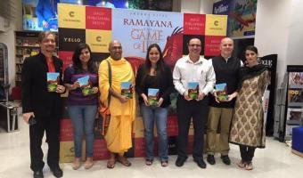 Launch Of Ramayana, The Game Of Life Book 3- Stolen Hope At Crossword, Kemp's Corner Mumbai