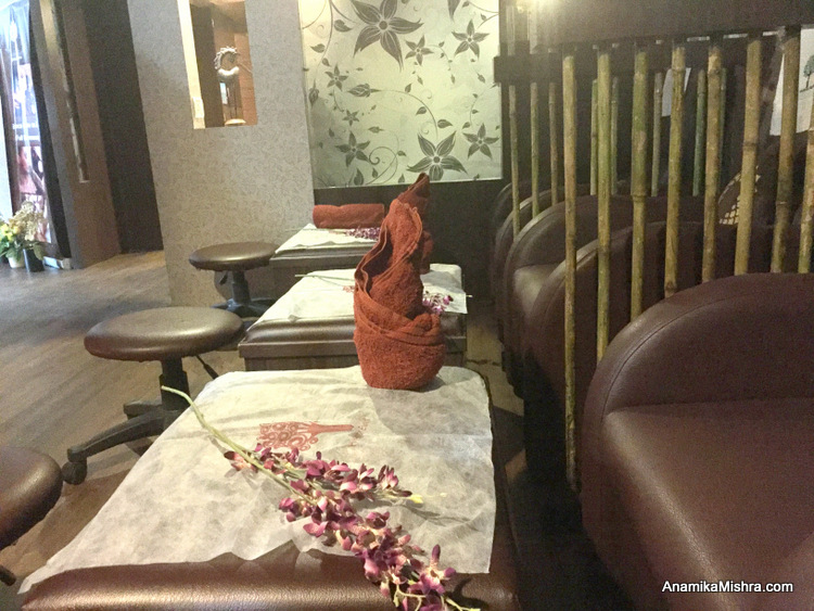 The Spa Express, Lucknow Airport - Pamper Yourself Before Your Flight