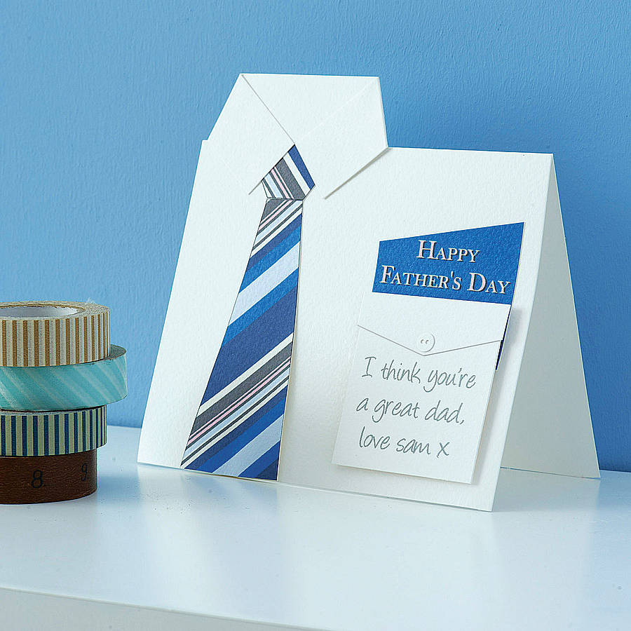 9 Handmade Fathers Day Greeting Card Ideas