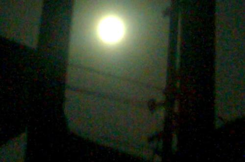 Full Moon Captured From Using My Nokia 7210 Supernova