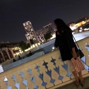 Doha at night -National Day