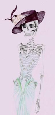 Catrina wearing Versace