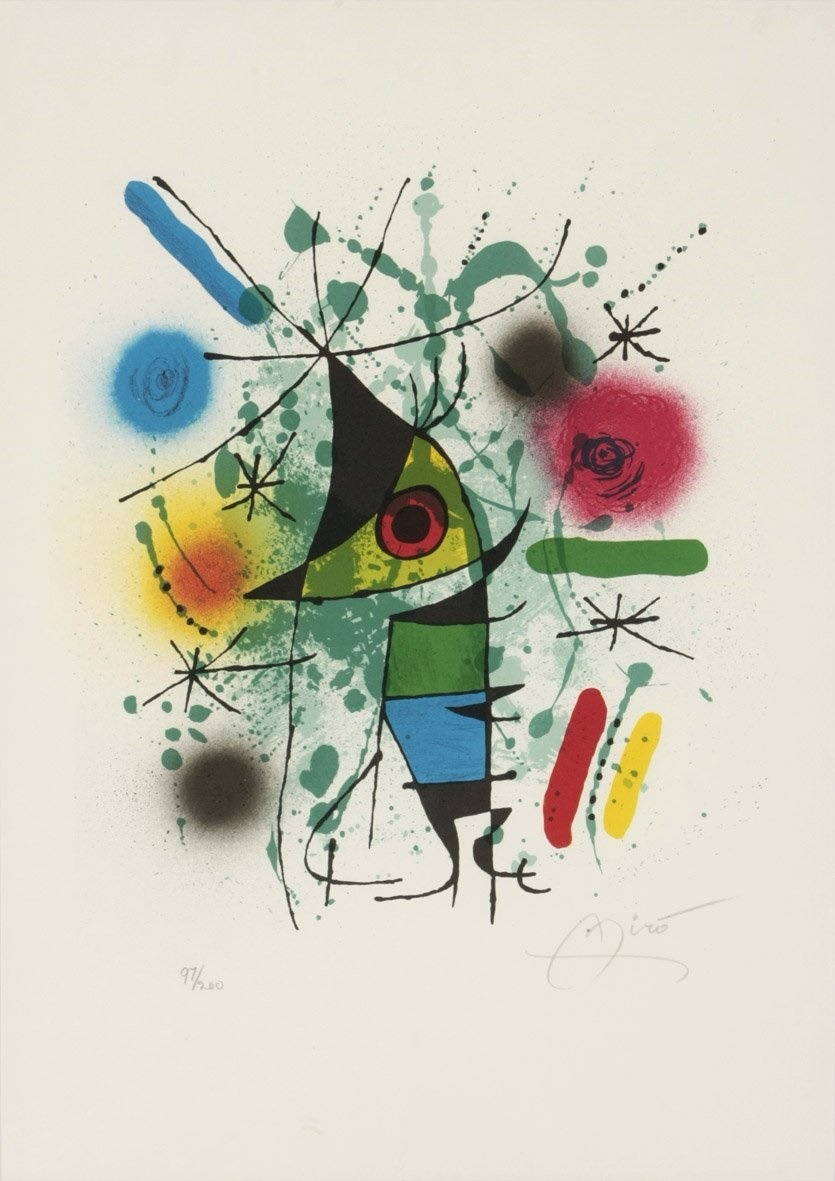 The Singing Fish de Miró