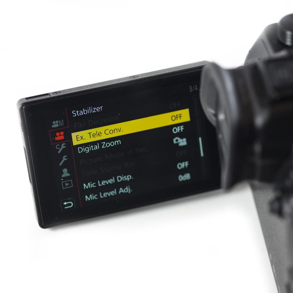 GH5 anamorphic lens ETC mode tele