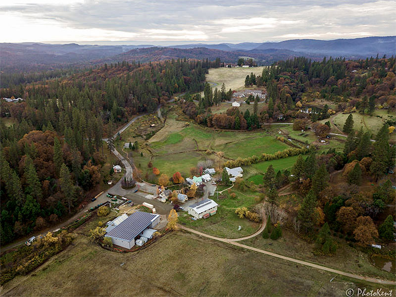 aerial view of ananda
