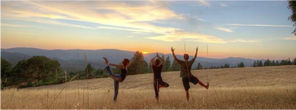 yogis on the ridge