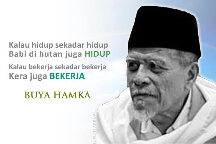 Biografi Buya Hamka Sastrawan Indonesia  Zsalsas Blog