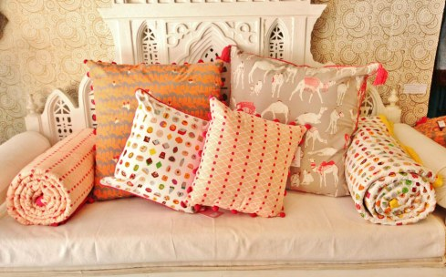 Safomasi quilt and cushion