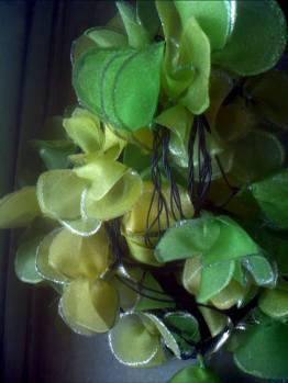 Varsh'a fairy lights colourful flowers