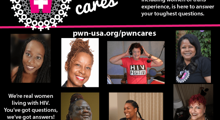 pwn cares promo ad courtesy of positive women's network