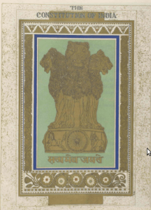 Satyameva Jayate- The national emblem the four lions