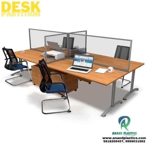 Office Partition -Acrylic Desk Partition