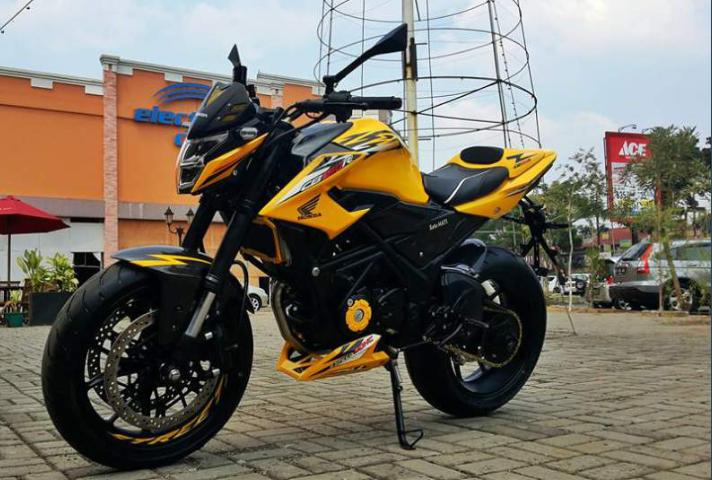 Modifikasi Motor Cb 150 R New