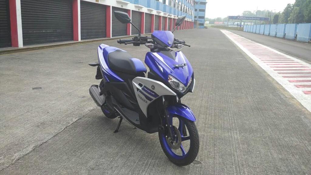 Tiga Warna Pilihan Yamaha Aerox 125, Abu Abu-nya Keren