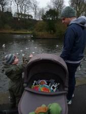 Jude first park visit